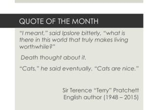 Sir Terence Pratchett