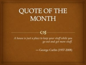 Quote of Month Oct 2016