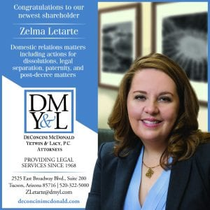 Zelma Letarte new Shareholder