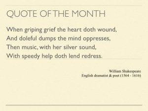 William shakespeare quote law